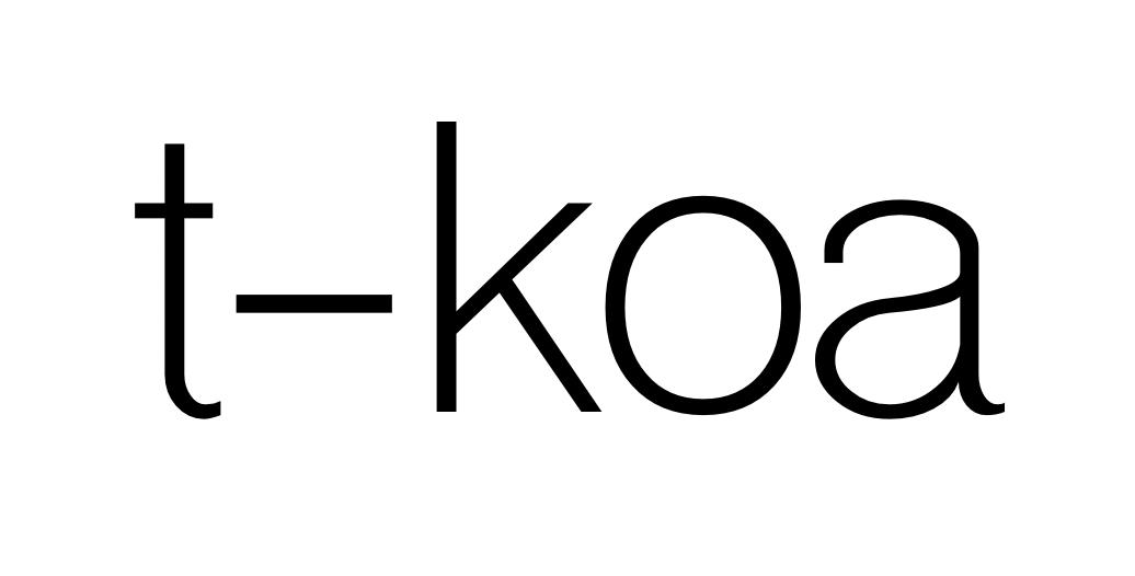 GitHub - tkoajs/tkoa: 🌈 Koa web app framework written in typescript