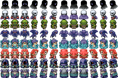 Cobalt Calibur Monster Spritesheet