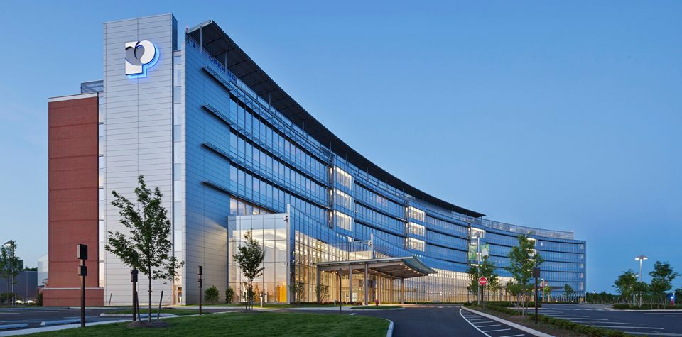 University Medical Center of Princeton at Plainsboro: curved for your health
