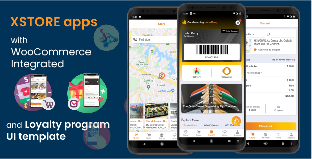 XStore - Universal mobile store application for WooCommerce - 1