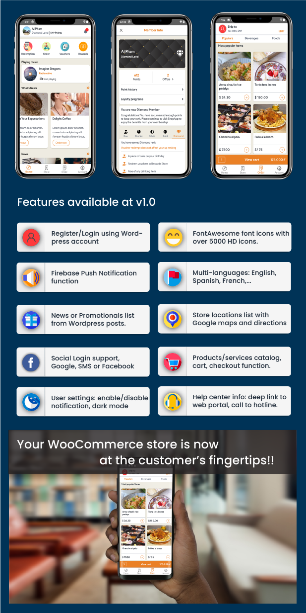 XStore - Universal mobile store application for WooCommerce - 3