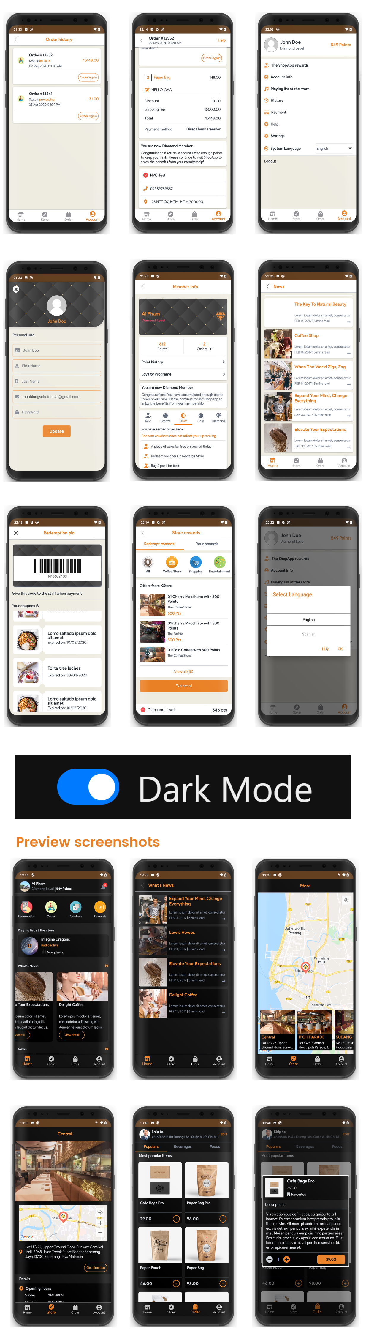 XStore - Universal mobile store application for WooCommerce - 5