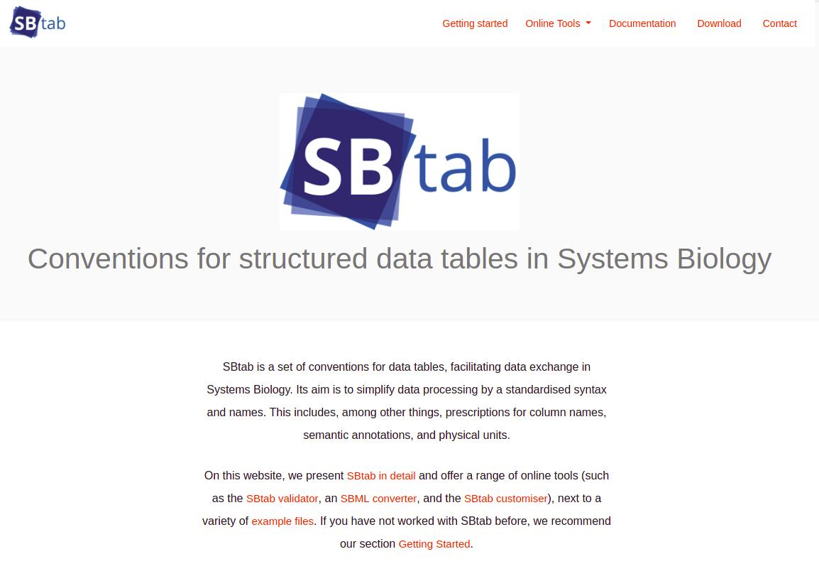 SBtab online