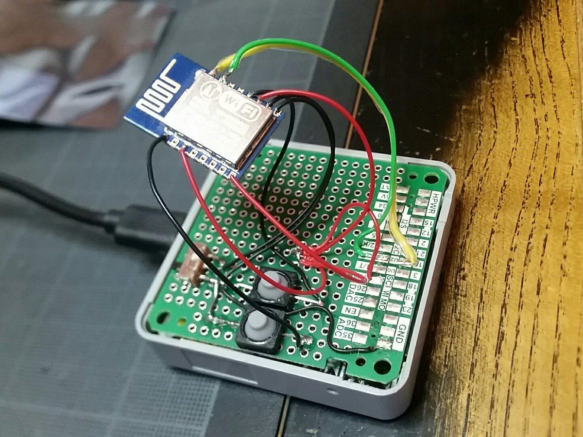 GitHub - tobozo/M5Stack-ESP12-Shield: ESP12 shield for