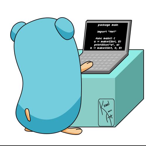 Image from: [http://kirael-art.deviantart.com/art/Go-lang-Mascot-458285682](http://kirael-art.deviantart.com/art/Go-lang-Mascot-458285682)