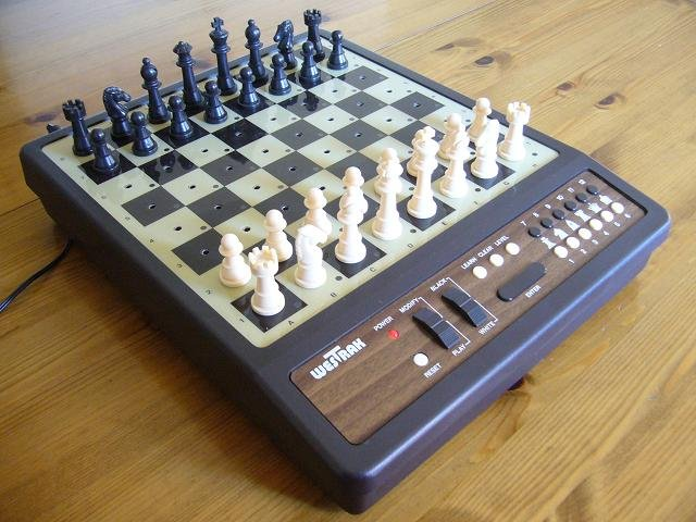 Image of electronic chess board