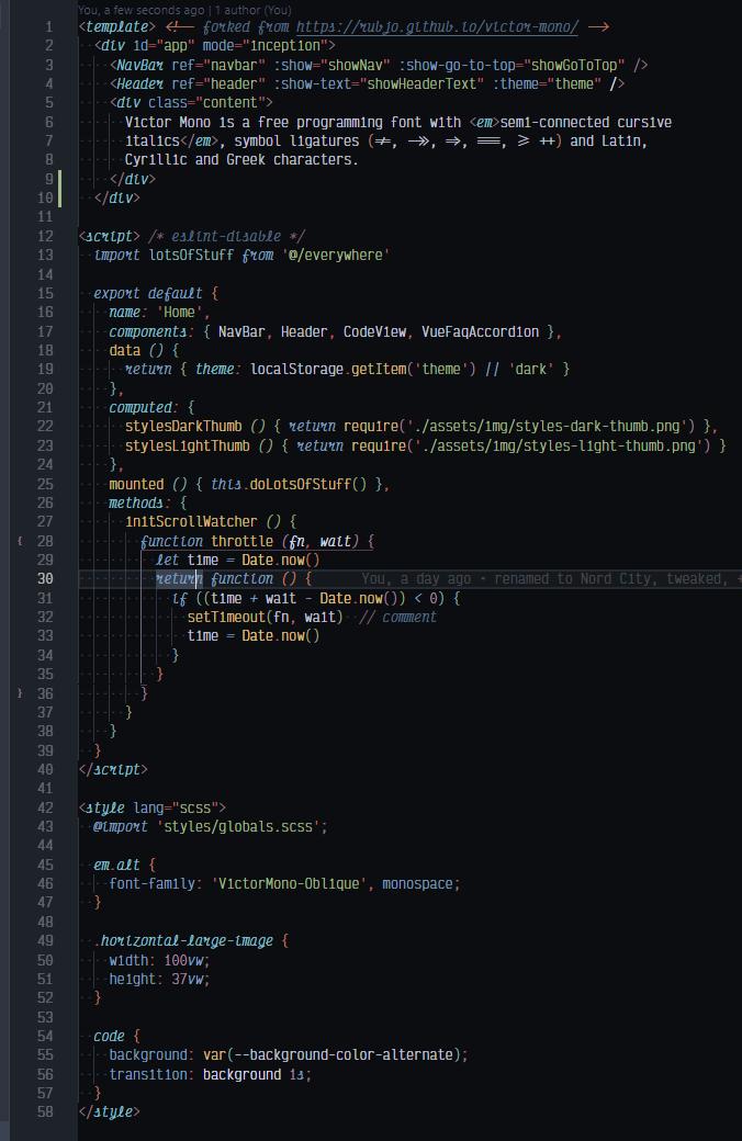 HTML demo screenshot