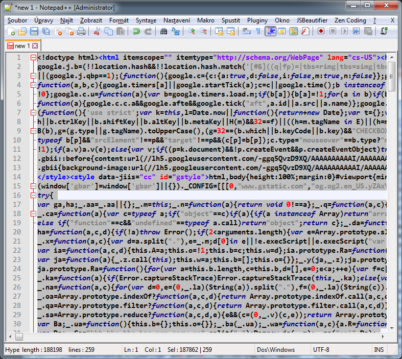 GitHub - hh-lohmann/Notepad-JS-HTML-Beautifier-Plugin