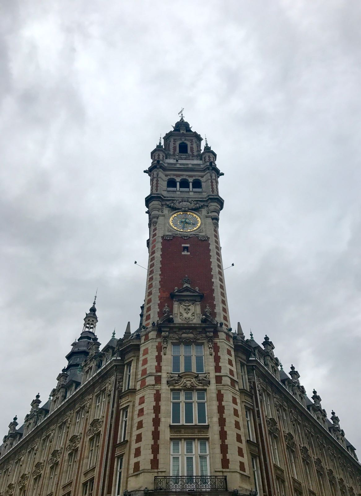clock tower for the centre of commerce in Lille