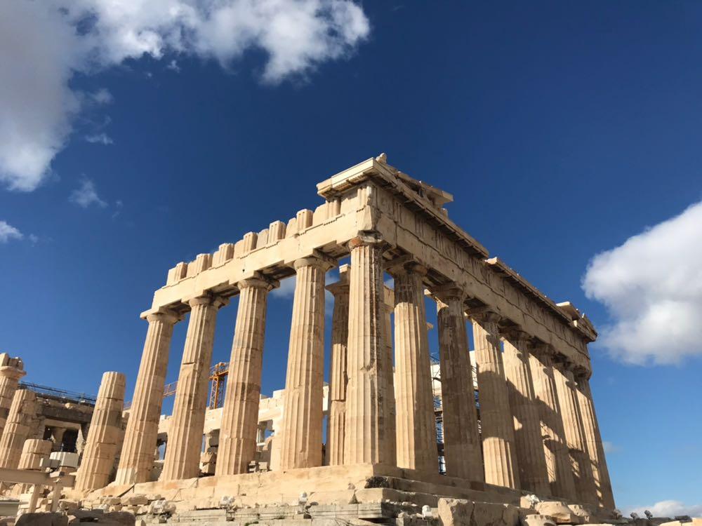 The Parthenon from the Acropolis
