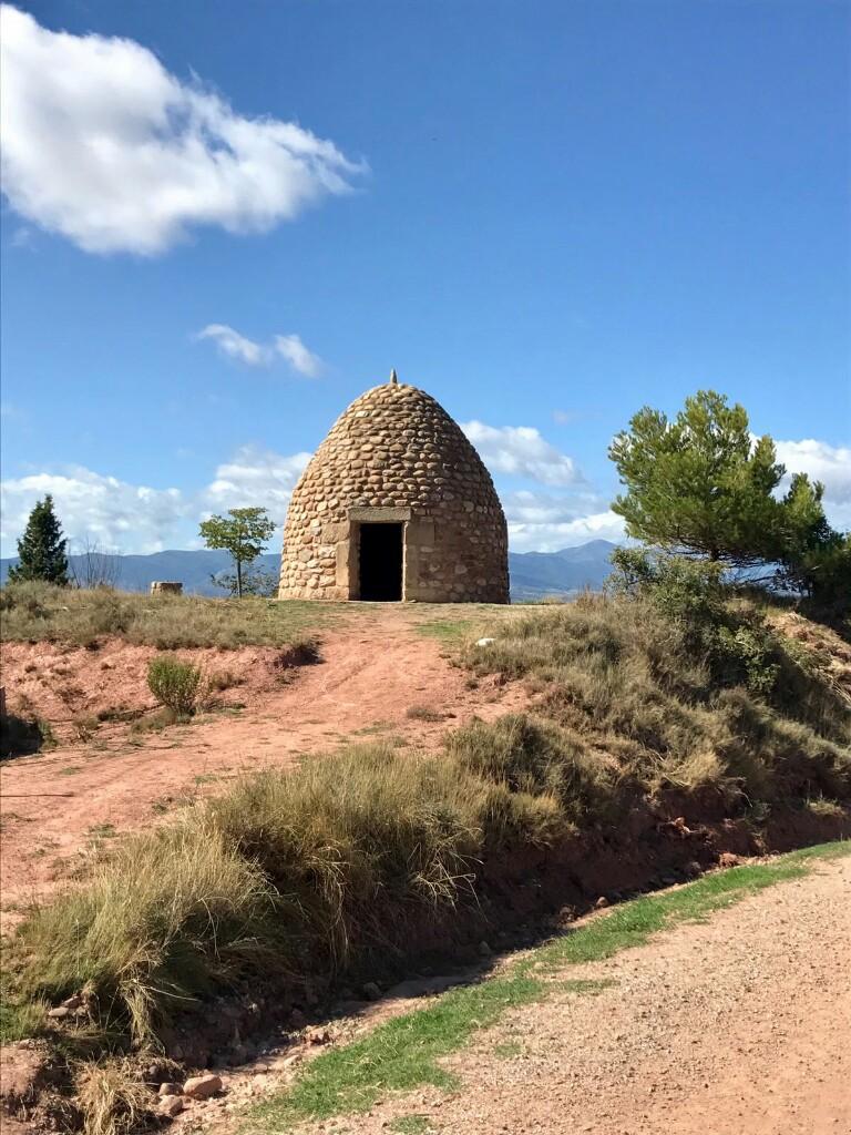 Ancient stone house outside Najera