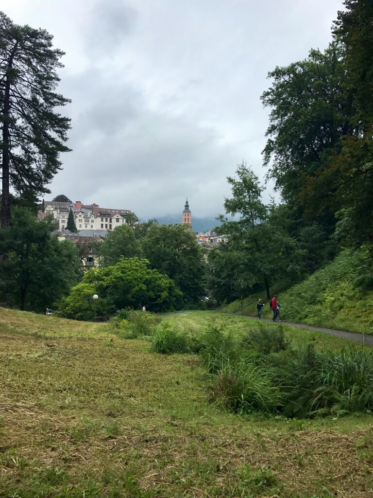 Baden Baden from the edge of the Black Forest