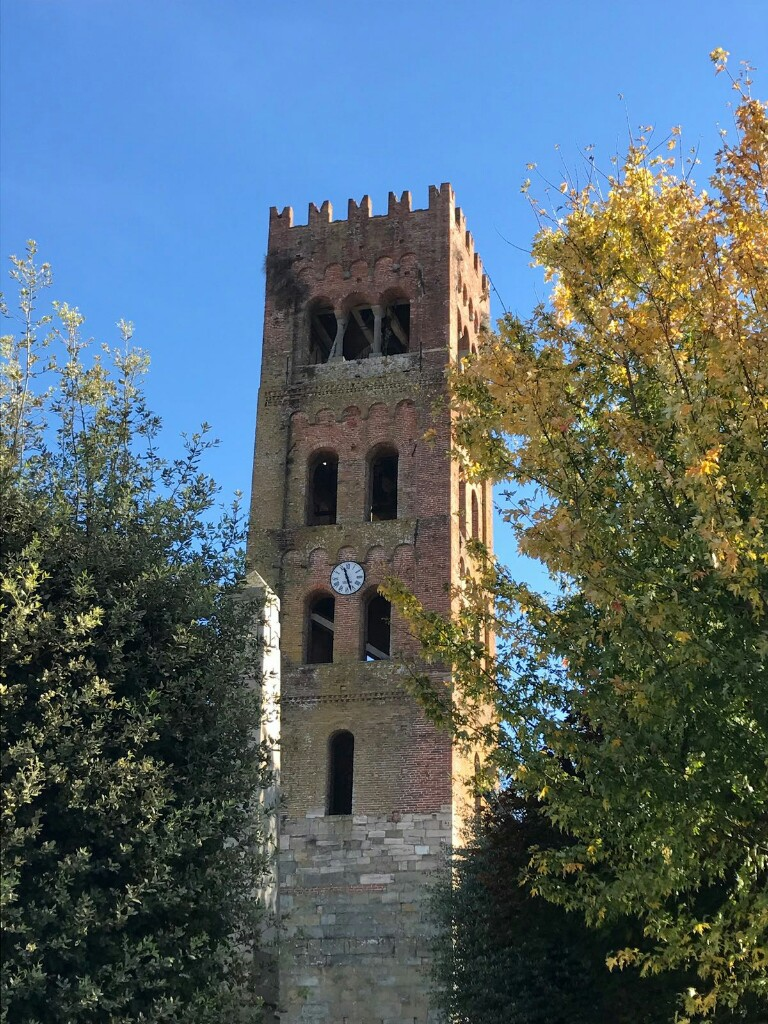 Church tower in Capannori