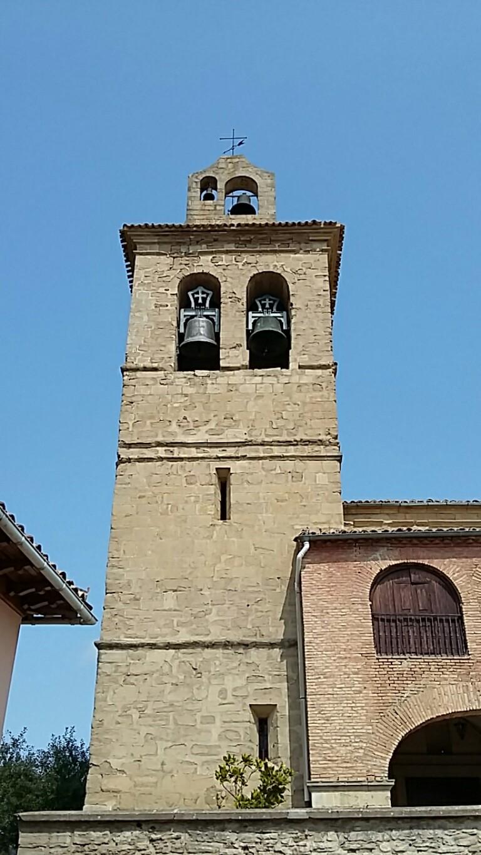 A church in Muruzabal