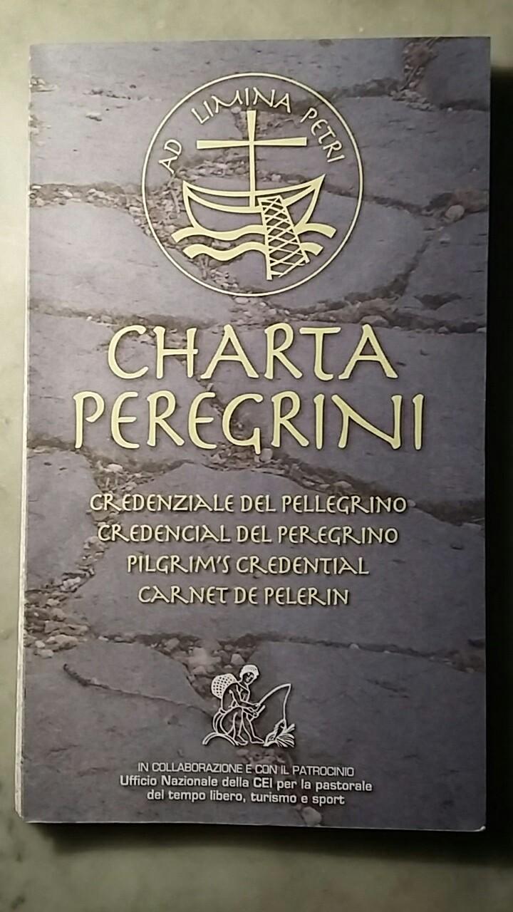 A pilgrim passport for the Francigena