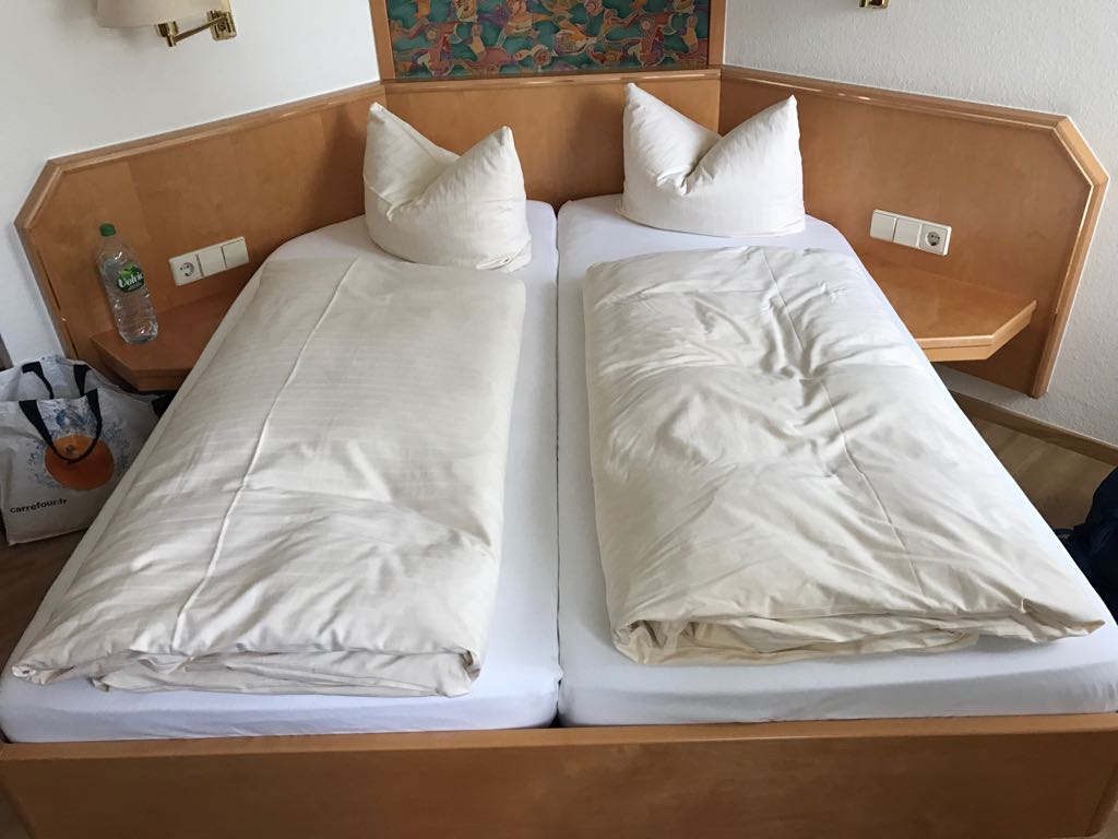 chaste beds with separate duvet covers