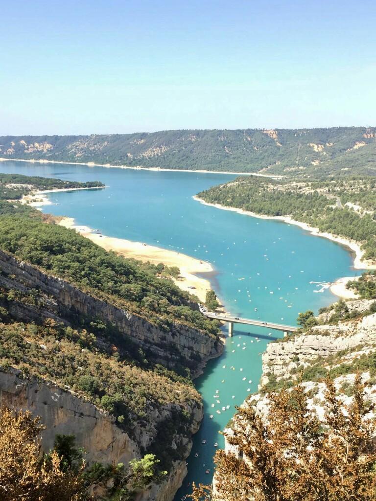 Lac de Sainte-Croix from above