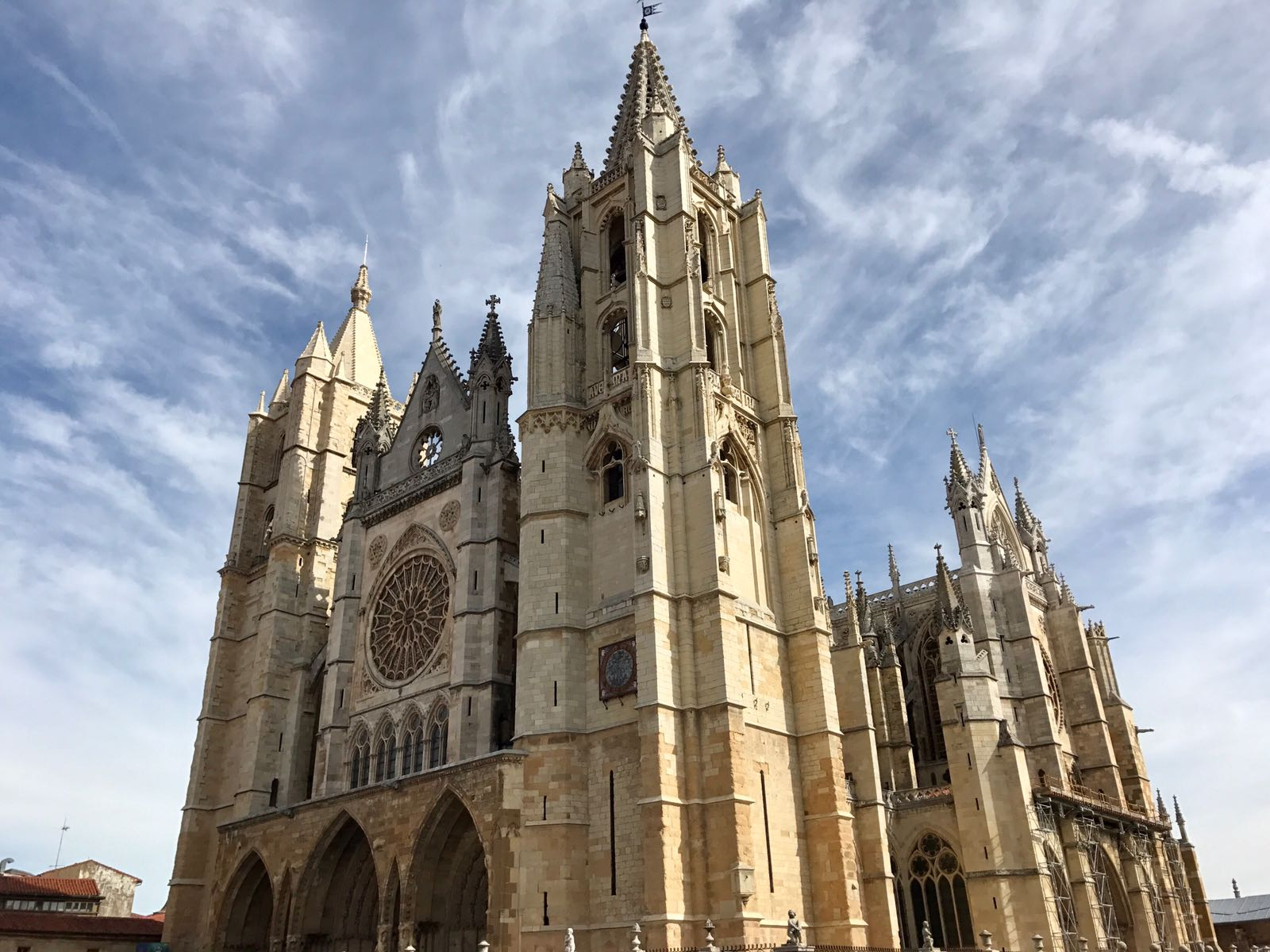 Leon Cathedral from the outside