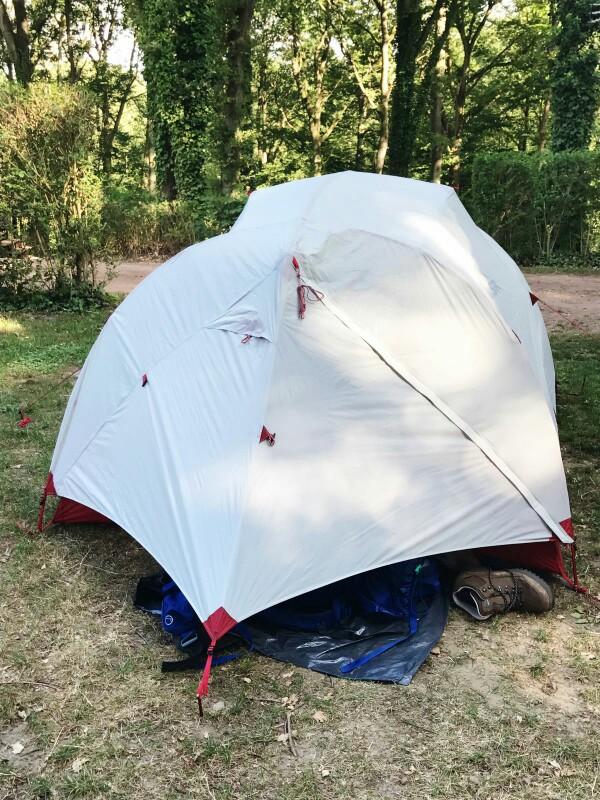 handsome msr tent
