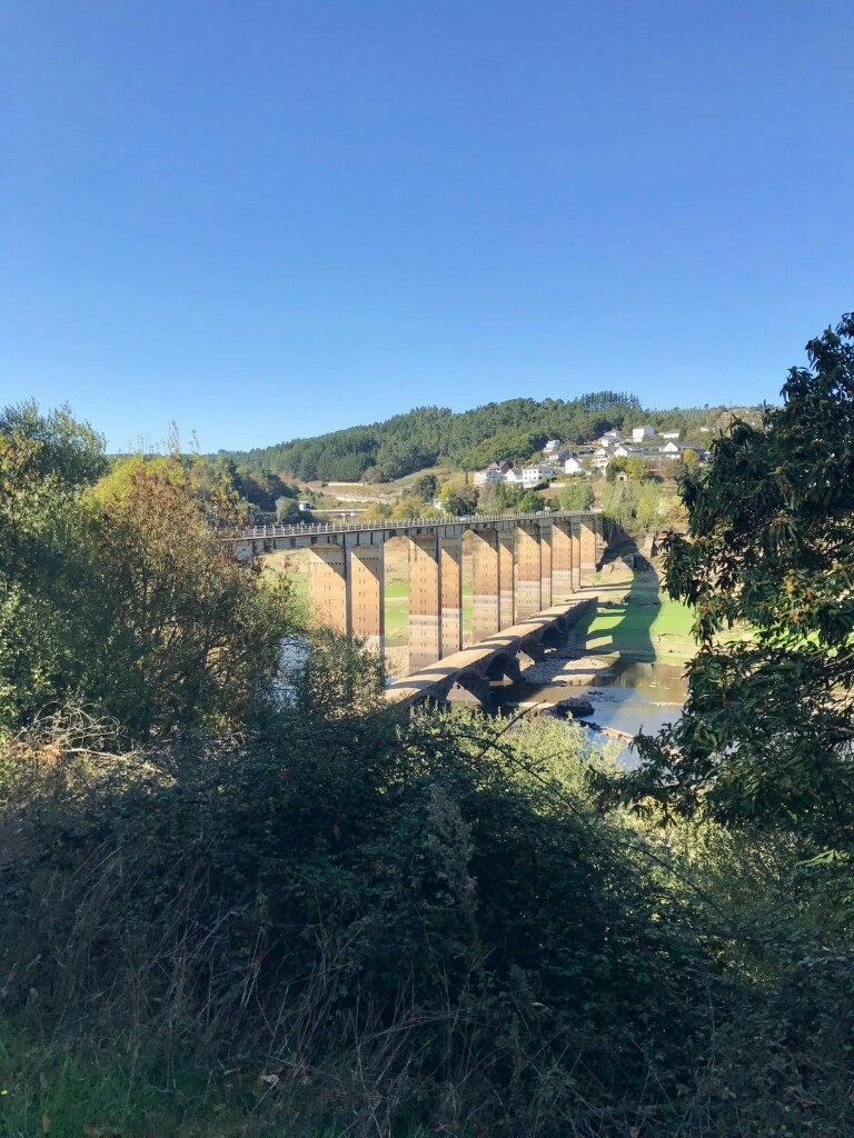 The bridge to Portomarin