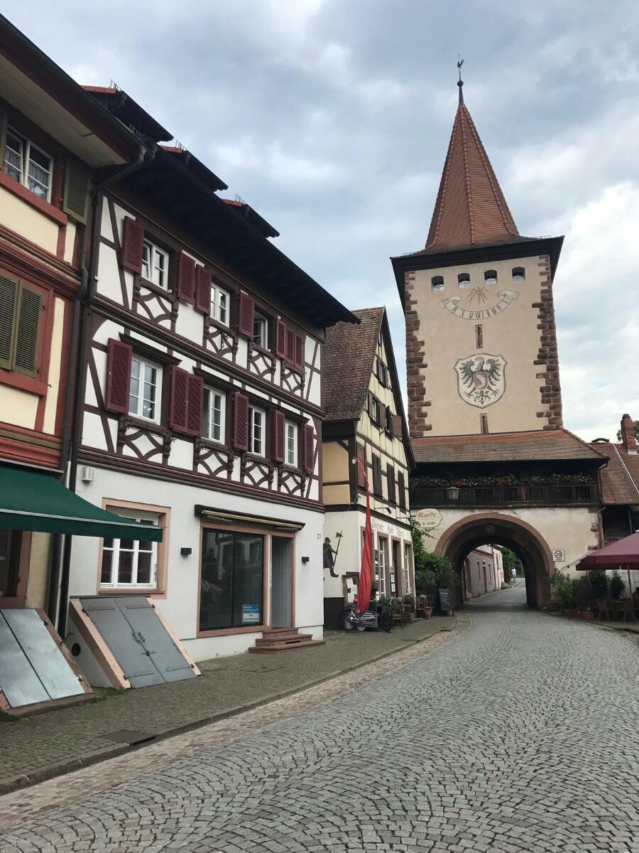 high street in Gengenbach