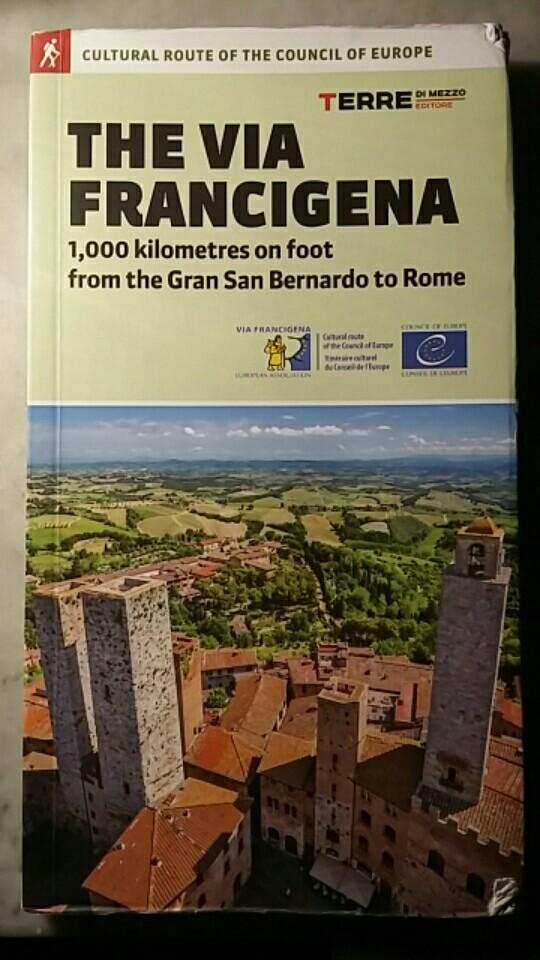 The Via Francigena guidebook