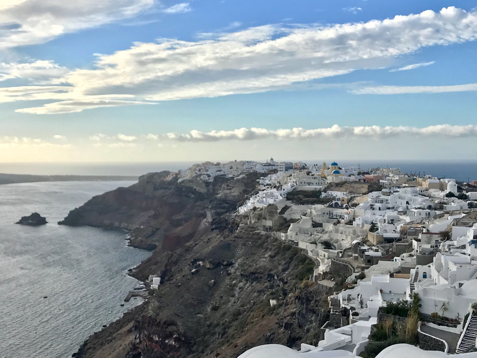 View of Oia from above