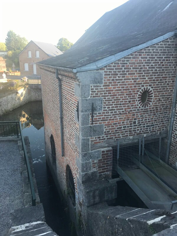 Watergates for the mill waterwheels