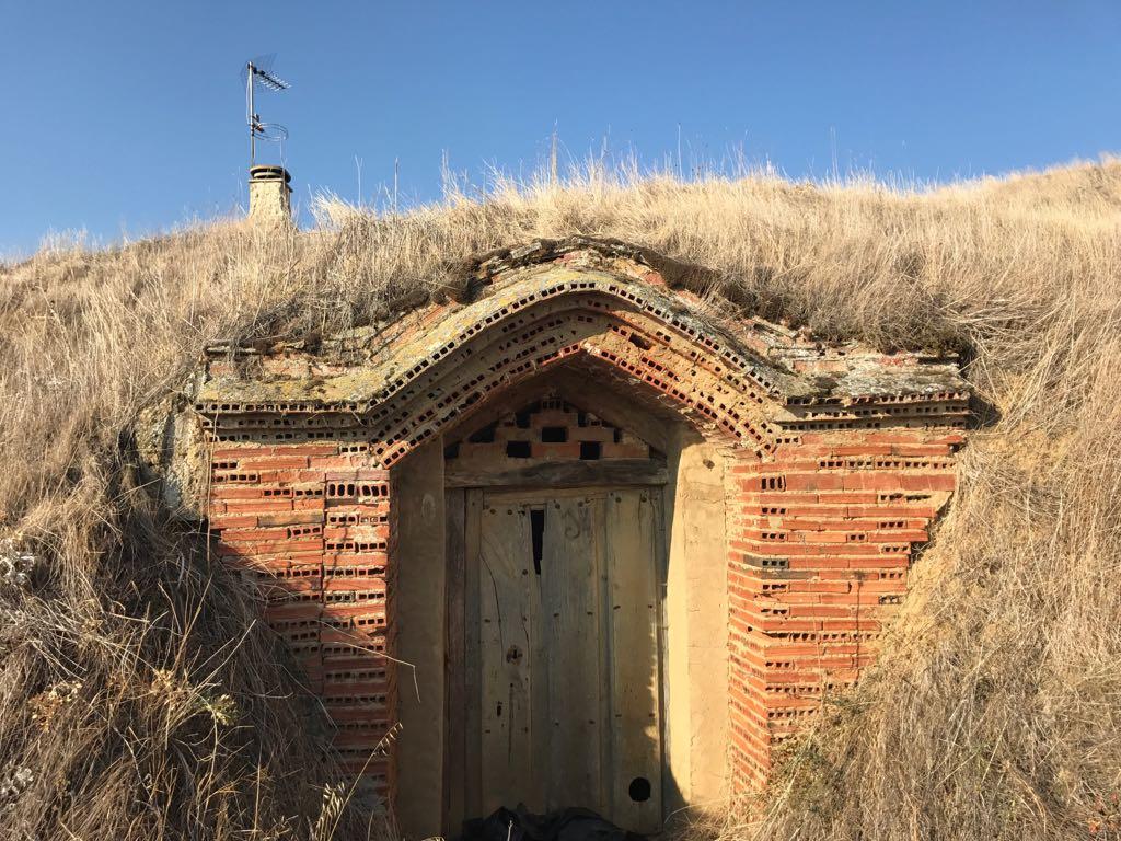 Door to one of the wine caves