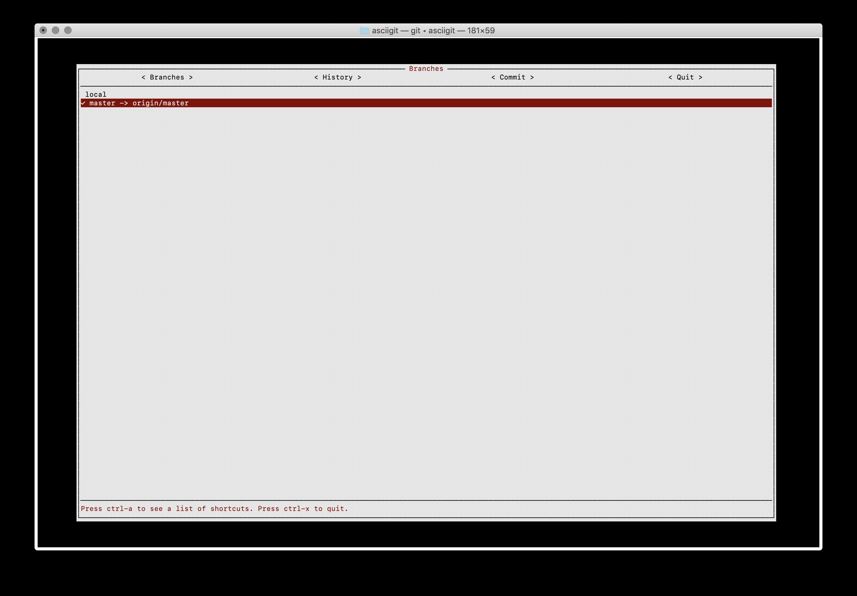 terminal git client branch screenshot