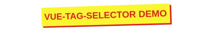 vue-tag-selector logo