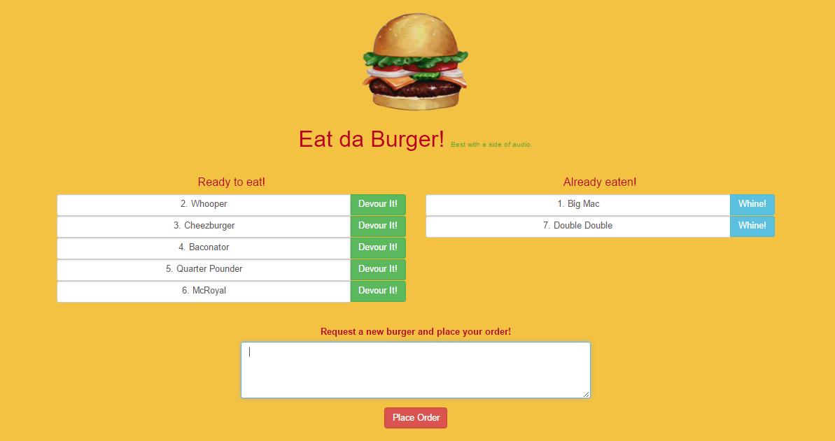 Eat Da Burger