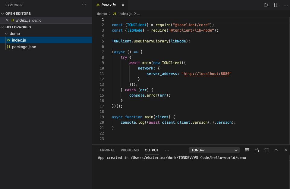 TONDEV Visual Studio Code plugin - TONDEV Visual Studio代码插件