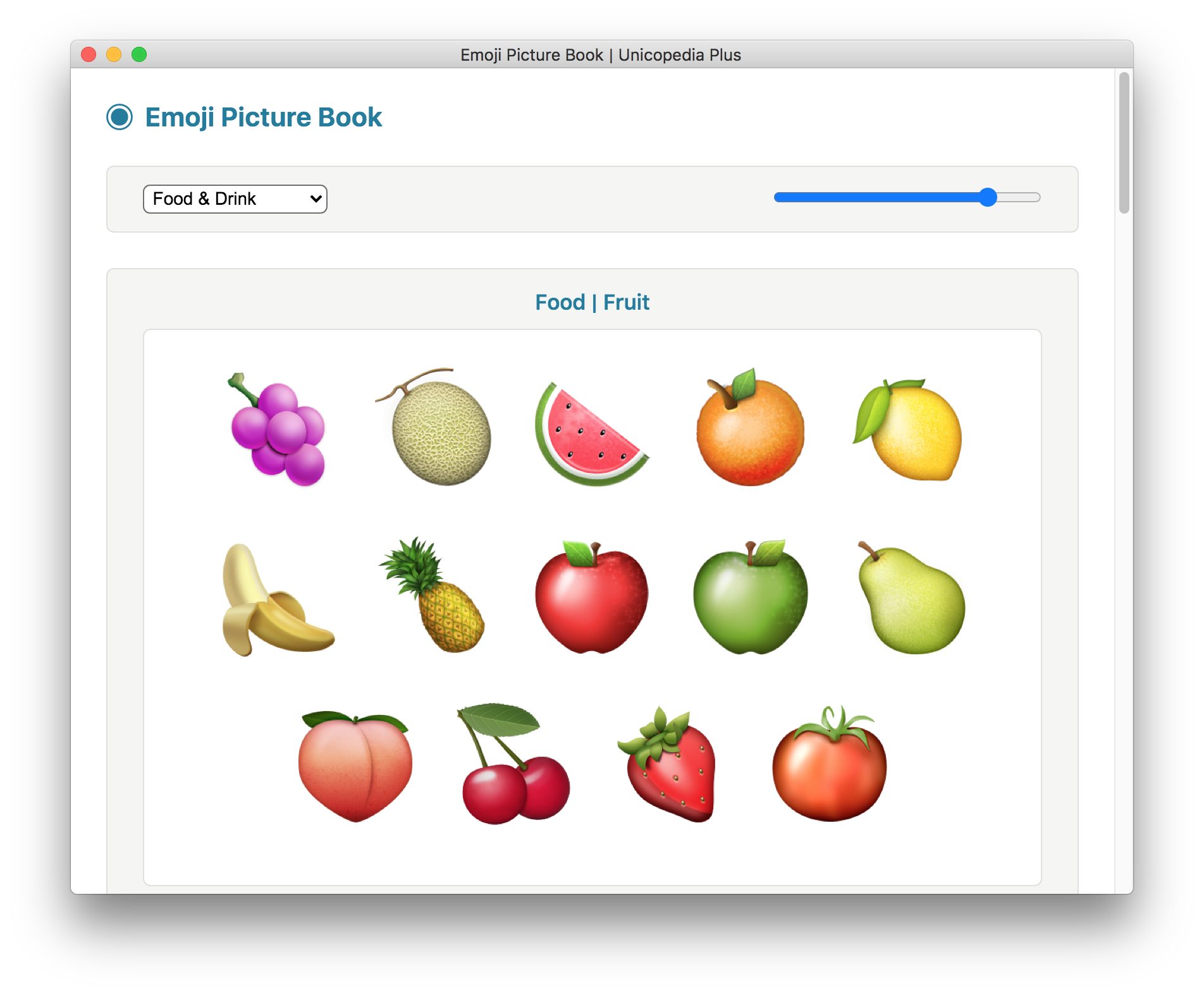 Emoji Picture Book screenshot