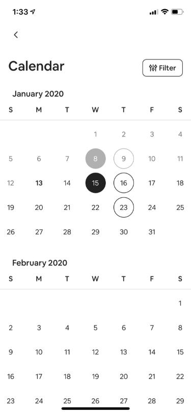 Experience Host Calendar Management