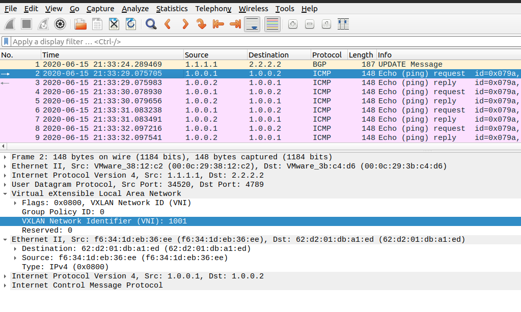 Wireshark Packet