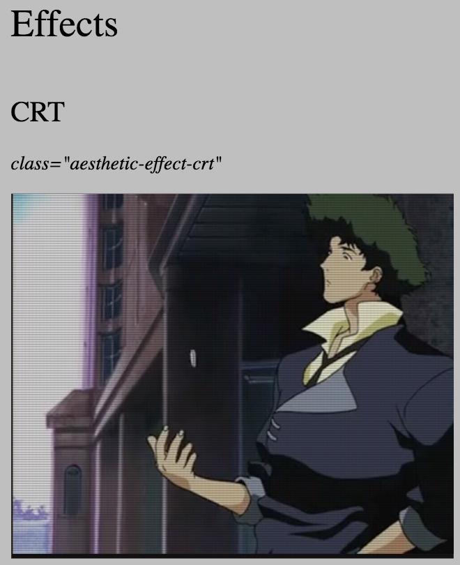 C R T Example