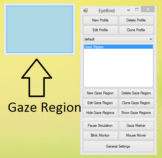 Image of EyeBind Gaze Region