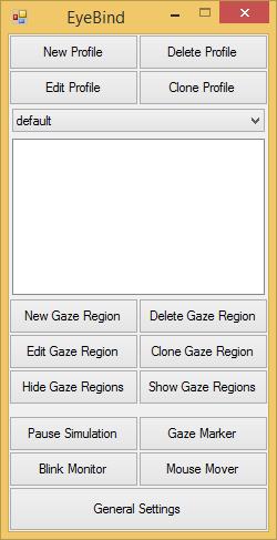 Image of EyeBind Main UI
