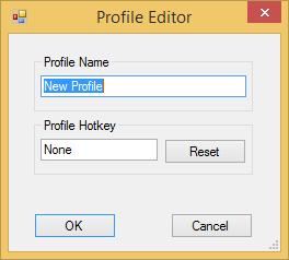 Image of EyeBind Profile Editor