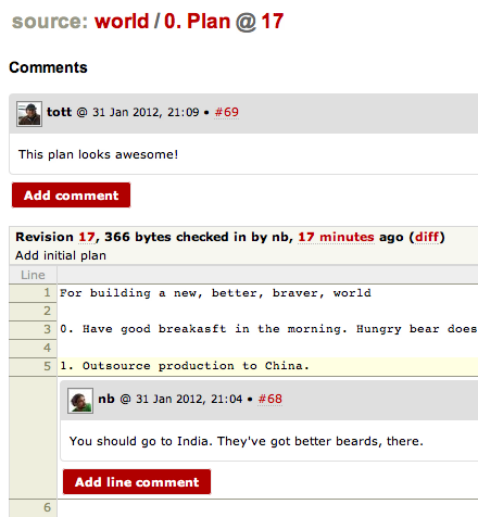Inline comment screenshot