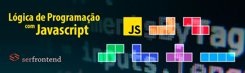 Banner do Curso de Lógica de programação com Javascript