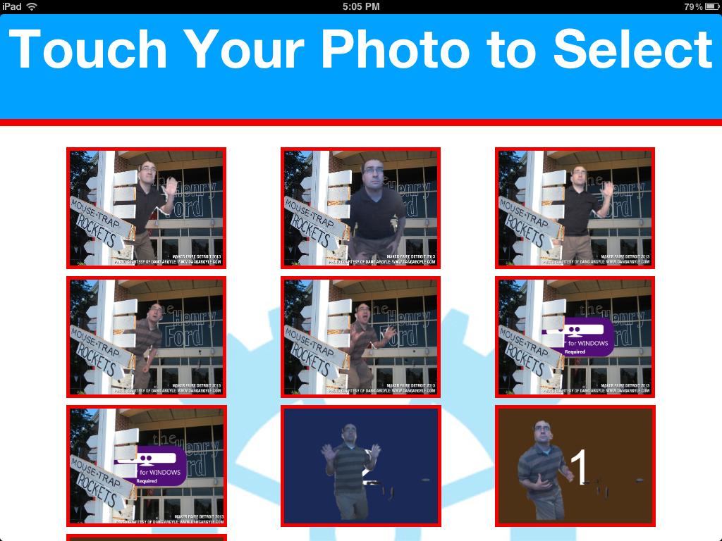Photo Selection UI on an ipad1