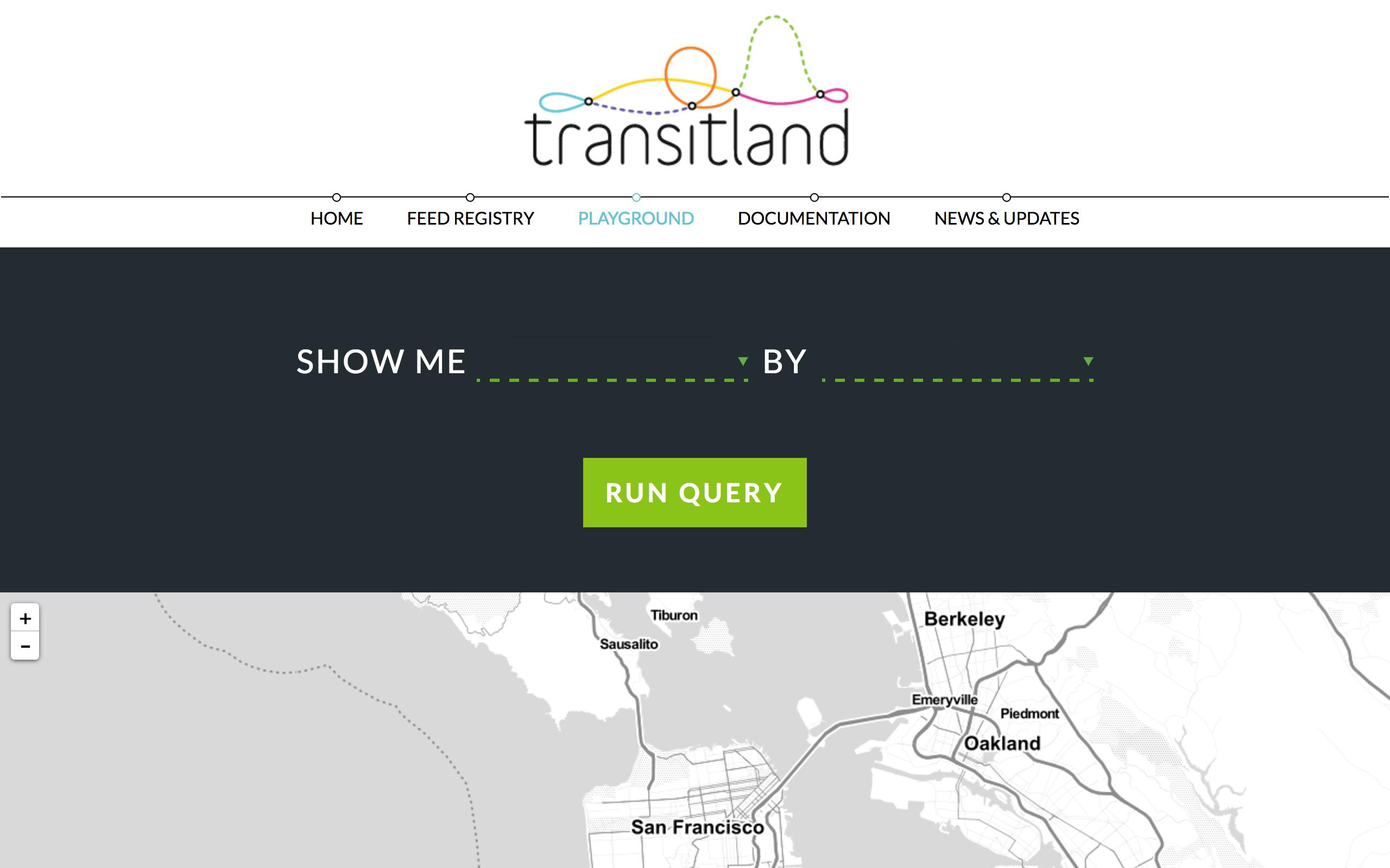 Transitland Playground UI