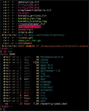 GNU/Linux screenshot