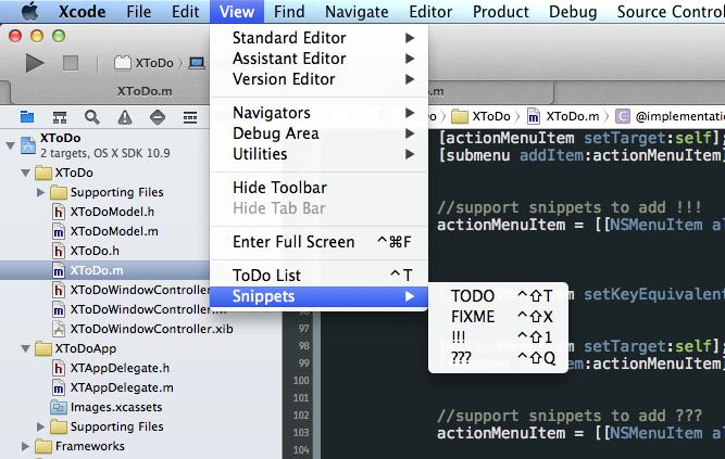 Toolbar exemple