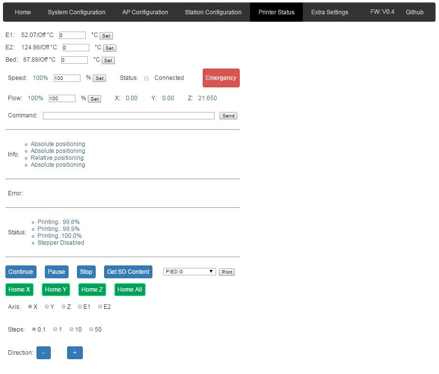 GitHub - treepleks/ESP8266: FW for ESP8266 used with 3D