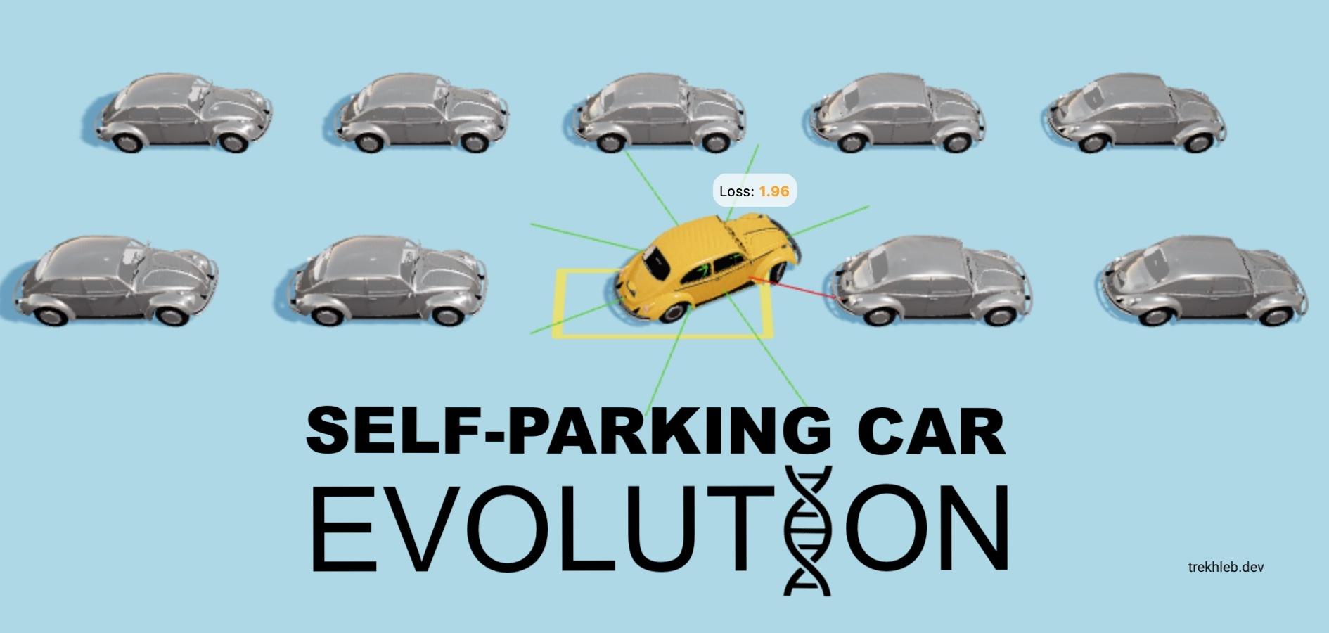 Self-Parking Car Evolution