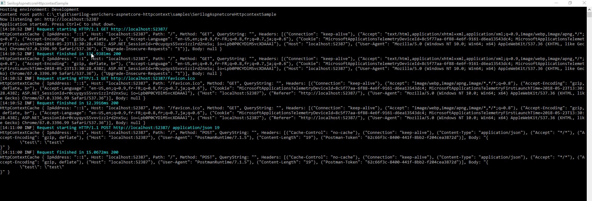 GitHub - trenoncourt/serilog-enrichers-aspnetcore-httpcontext