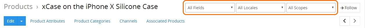 Product filters
